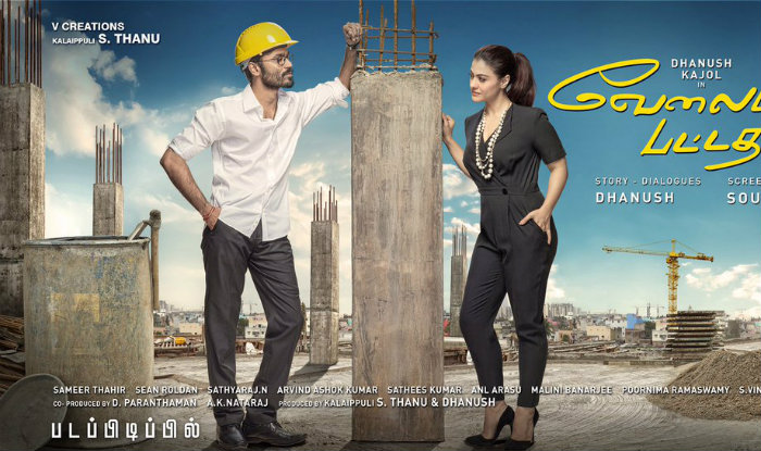 VIP 2 movie review : Dhanush as an unemployed graduate works wonderfully with Kajol's menace