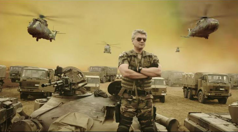 Vivegam storming box office collections in Chennai