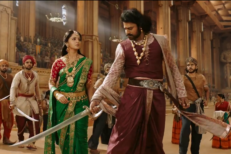 "This scene became the most iconic scene of part 2, when Baahubali says ,"" Kat te hain uska gala""."