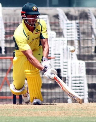 Aussies warm up with 103-run win vs Board President's XI