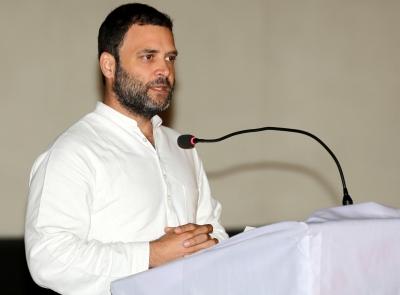 BJP's ideology is to crush dissent: Rahul Gandhi