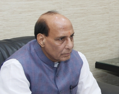 Trees of peace have not dried up in Kashmir: Rajnath