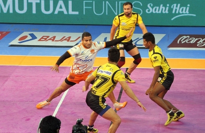 PKL-5: Puneri Paltan clinch 42-37 win over Telegu Titans