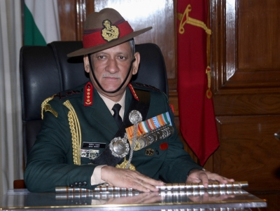 India must be prepared for two-front war: Army chief