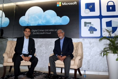 Security core to our end-to-end Cloud architecture: Microsoft India (IANS Interview)