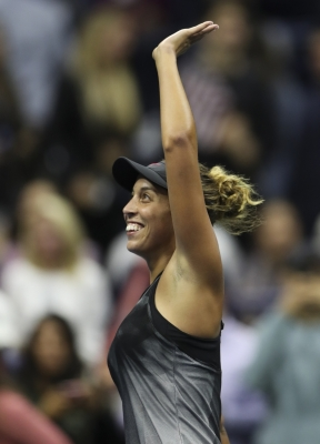 Keys enters US Open women's final