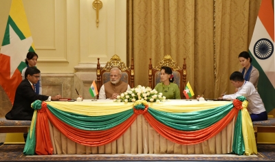 India, Myanmar sign 8 agreements