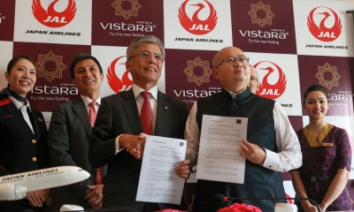 Japan Airlines, Vistara agree on commercial cooperation