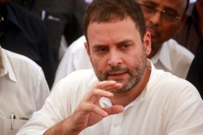 Modi government promoting crony capitalism: Rahul Gandhi