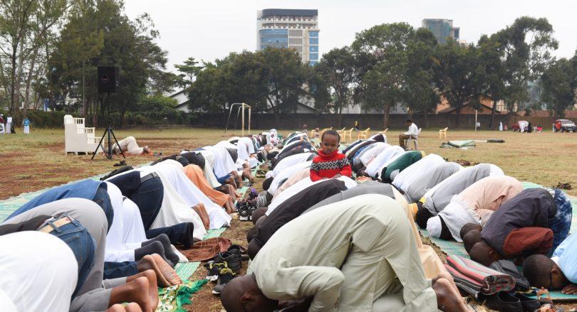 Eid al-Adha celebration in Nairobi, capital of Kenya, Sept.
