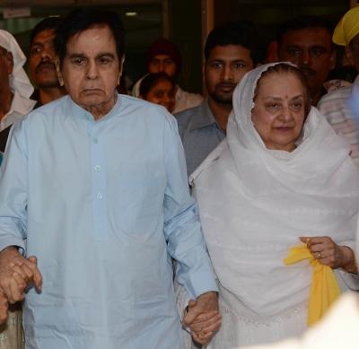 Dilip Kumar feeling vindicated, triumphant: Saira Banu