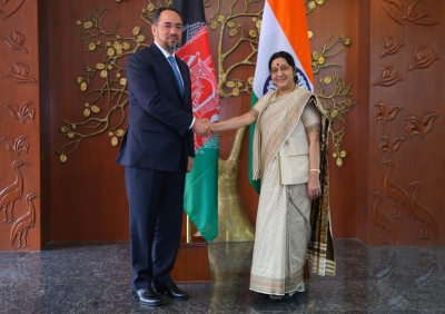 Strategic partnership with Afghanistan article of faith for India: Sushma