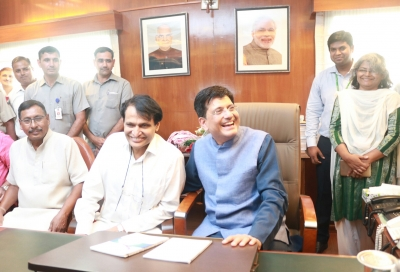 Huge investments made in railways in 3 years will lead to development: Goyal