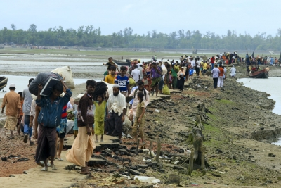 Unicef sends aid to Rohingya camps in Bangladesh