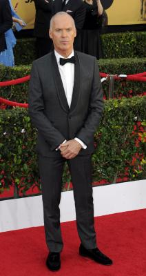 Weather has taken toll on Michael Keaton's skin