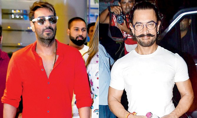 Aamir Khan Vs Ajay Devgn this Diwali with the release of Secret Superstar and Golmaal Again.