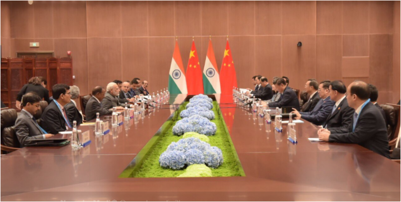 BRICS summit 2017: PM Modi meets China President Xi-Jinping after Doklam standoff