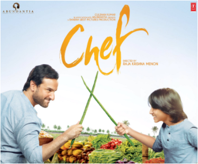 Chef movie starring Saif Ali Khan and Svar Kamble new poster is here