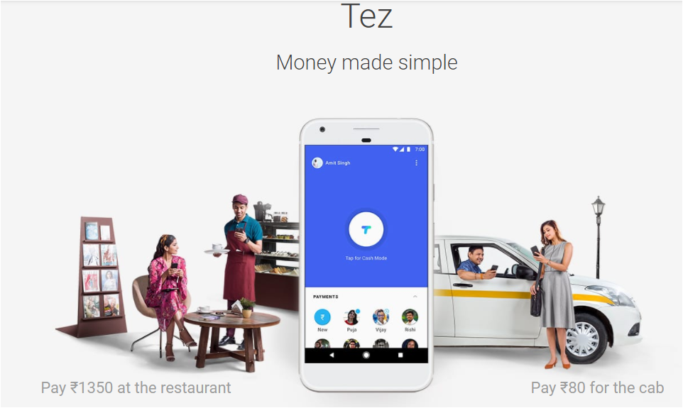 Google launching Tez to compete in Indian digital payments space