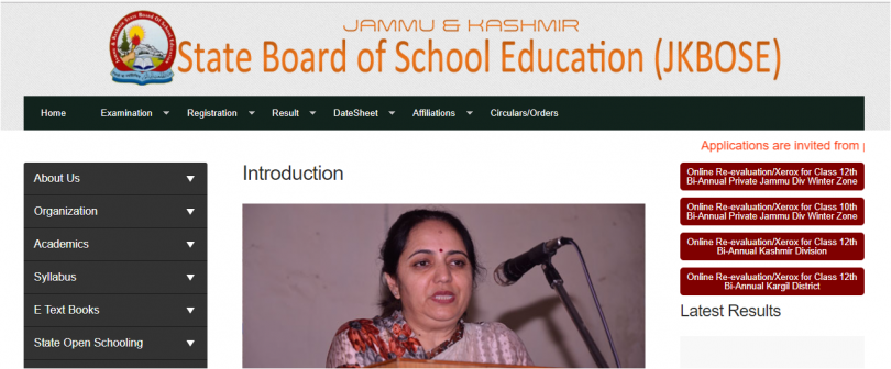 JKBOSE 10th and 12th class biannual private result 2017 declared at www.jkbose.co.in