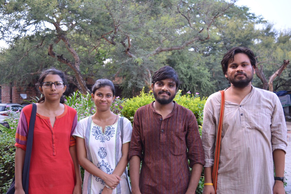 United Left sweeps JNUSU Polls 2017, wins all 4 seats