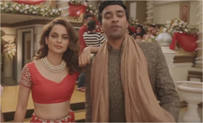 Kangana Ranaut promoting Simran movie with AIB's item 'Bollywood Diva Song'
