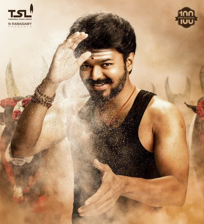 Mersal teaser starring Tamil Superstar Vijay earns 10 million views in a day