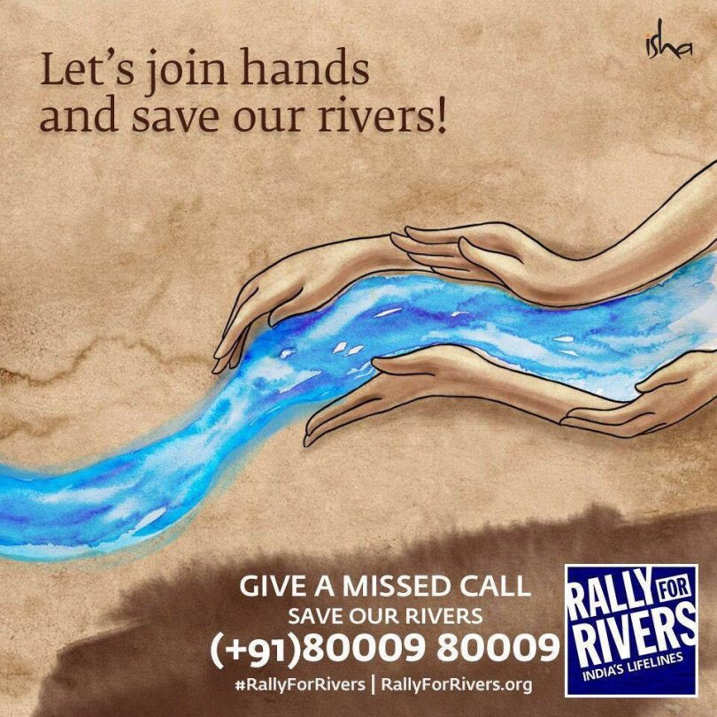 Rally for Rivers by Sadhguru, Isha Foundation an awareness about the state of rivers