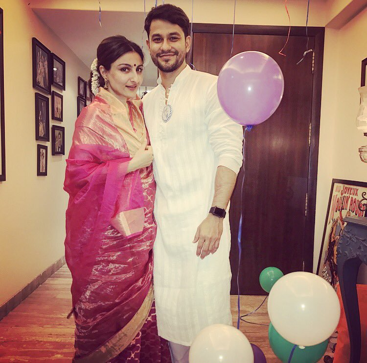 Soha Ali Khan and Kunal Khemu welcome their baby girl into the world.
