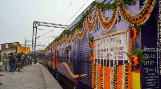 Vadodara-Varanasi train to be flagged off by PM Modi on Friday