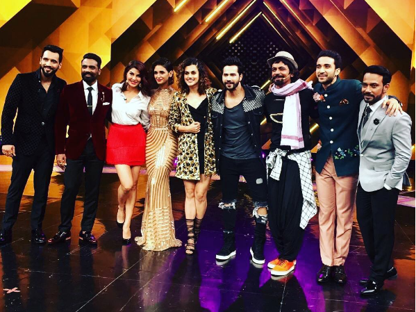 ABCD 3 announced by Remo D'Souza on the stage of Dance Plus 3