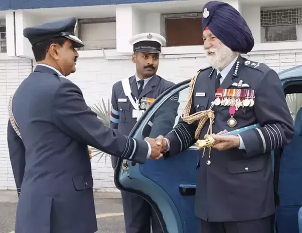 Arjan Singh, First Marshal of Indian Air Force dies of cardiac arrest