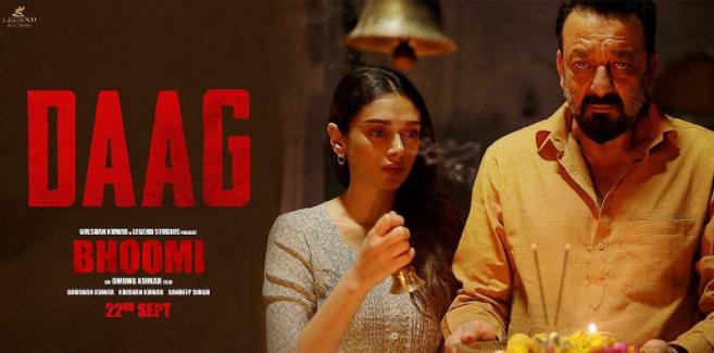 Bhoomi song Daag is out: Listen and feel a father-daughter selfless love