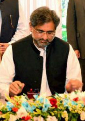 Abbasi is first Pakistani PM to fly in F-16