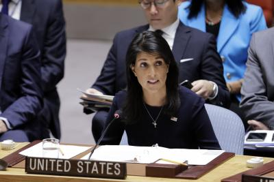 US calls for UNSC meet over N.Korea draft resolution