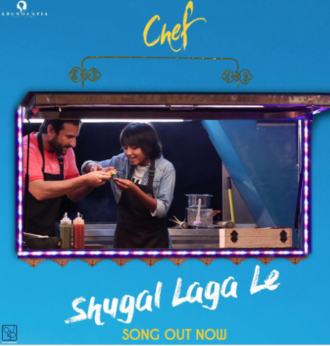 Chef song Shugal Laga Le is out featuring Saif Ali Khan in a playful mood