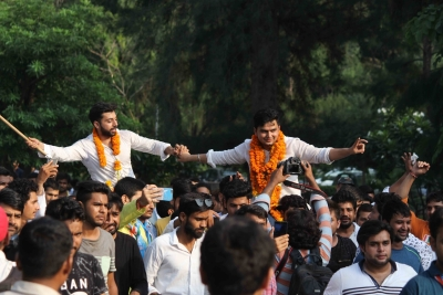 DUSU results bring cheers for NSUI after three years in the wilderness