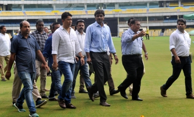 Assam's new stadium readies to host maiden international cricket match
