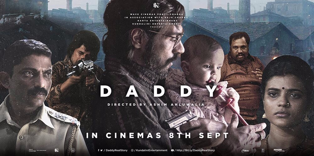 Daddy review and rating : Arjun Rampal brings the original Arun Gawli with his promising performance