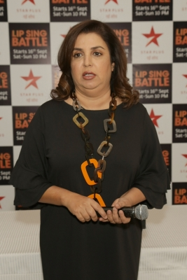 I enjoy being on TV: Farah Khan