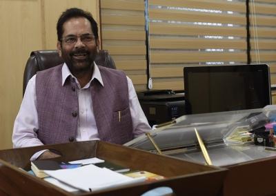 Socio-economic progress of minorities our focus: Naqvi