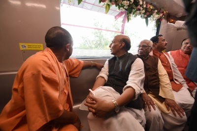 SP leadership frustrated over Lucknow Metro launch: BJP