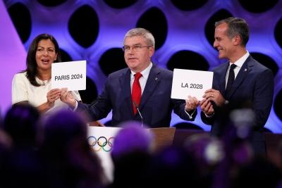 IOC confirms Paris, LA as hosts for 2024, 2028 Olympics