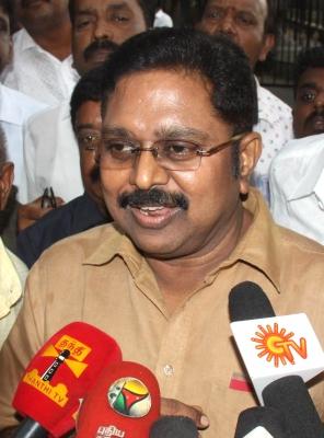 Will work to bring down Palaniswami government: Dinakaran