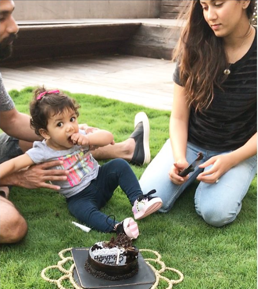 Shahid Kapoor daughter Misha gets her ears pierced and looks extremely cute