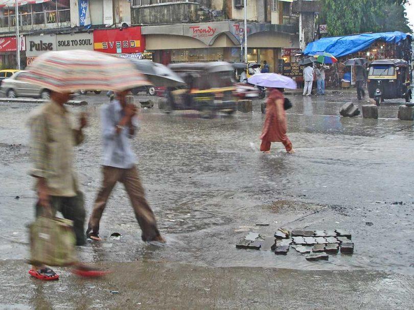 Mumbai rains: Heavy thundershowers lash city; roads waterlogged