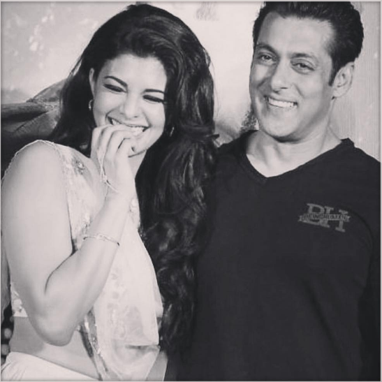 "Salman Khan and Jacqueline post video on the Judwaa 2 song ""Tan Tana Tan"""