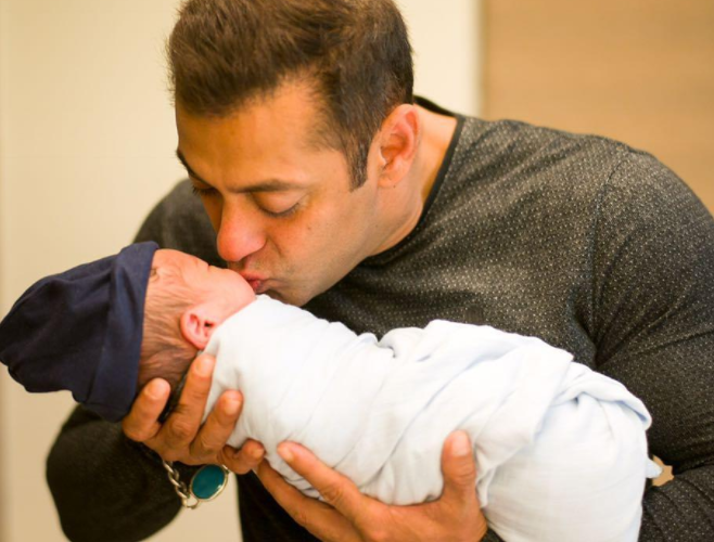 Salman Khan shares an adorable video with nephew Ahil
