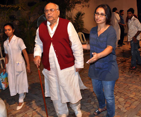 Rani Mukherjee's father Ram Mukherjee dies at 84
