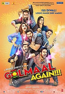 Golmaal Again movie review: The Movie serves funny idiocy
